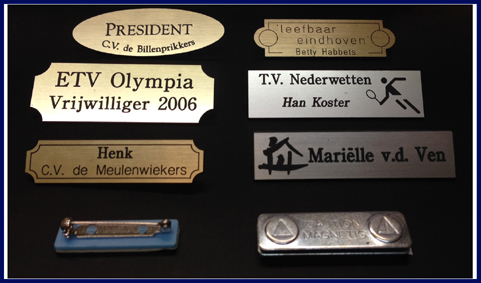 badges-graveren
